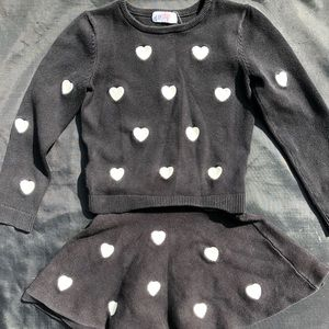 H&M Size 4-6Years Skirt Set